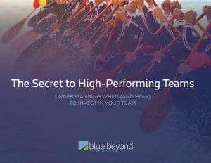 The Secret to High-Performing Teams eBook Cover