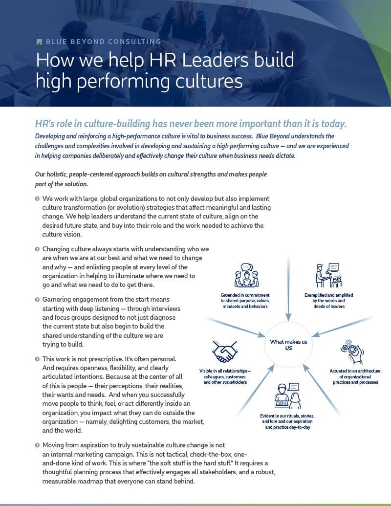 Corporate Culture | Organizational Culture Consulting
