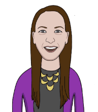 Erin Wilgus illustrated headshot author