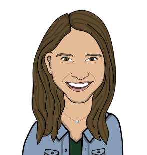 Mara Mintz author box illustrated headshot