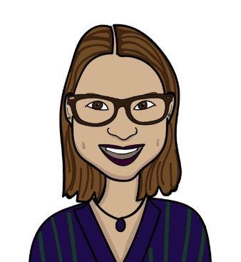 Elena Shackelford illustrated headshot blue beyond consulting author