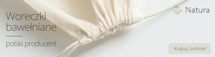 Woreczki bawełniane - Natura Słupsk