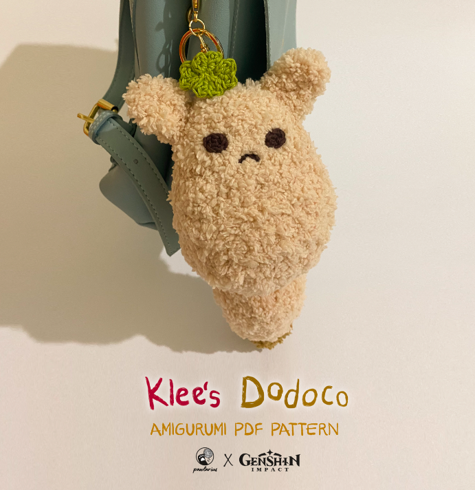 Lets make Klee's first best friend, Dodoco! You can make your own Dodoco as handmade Genshin Impact merchandise.