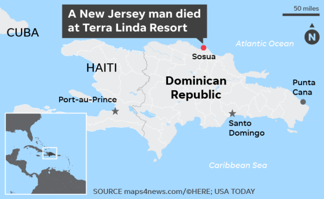 New Jersey man dies vacationing in Dominican Republic, family and State Department confirm