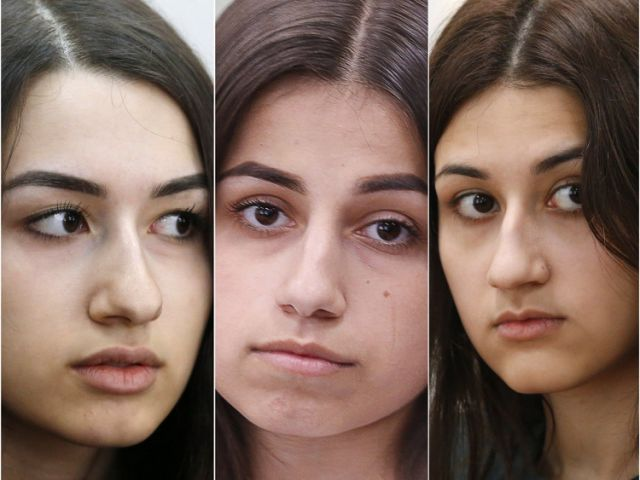 3 Russian teen sisters on trial for killing their father, citing years of horrific abuse, put a spotlight on domestic violence in the country