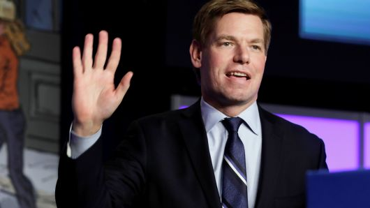 Eric Swalwell will be the first prominent Democrat to drop out of the 2020 presidential race, reports say