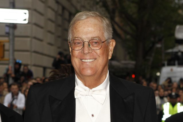Billionaire businessman David Koch dead at 79
