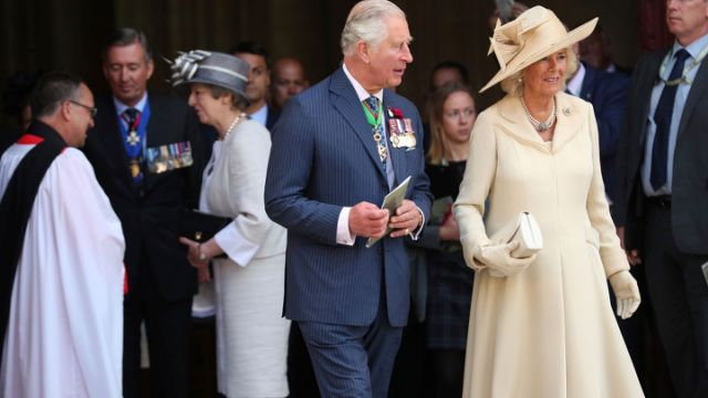 Prince Charles Apparently Wants Camilla to Have Princess Diana's Title When He's King
