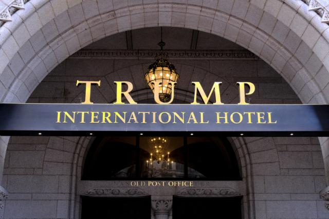 A federal appeals court threw out a lawsuit accusing President Donald Trump of illegally profiting off the presidency through his luxury Washington hotel, handing Trump a significant legal victory Wednesday.  A three-judge panel of the 4th U.S. Circuit Court of Appeals unanimously overturned the ruling of a federal judge in Maryland who said the lawsuit could move forward.