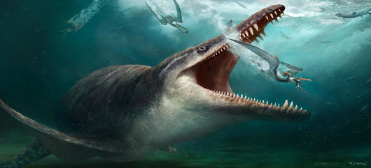 Geekscape of the Day: Kronosaurus