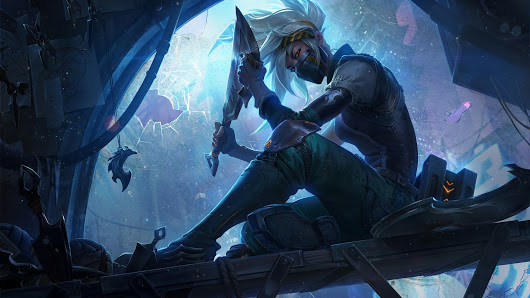Geekscape of the Day: Silverfang Akali