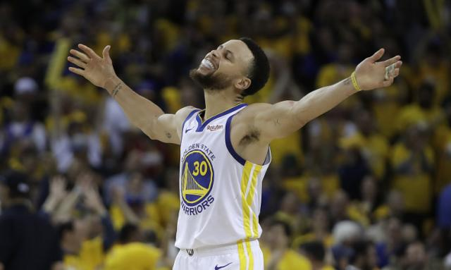 Durant goes down, Warriors hold off Rockets in Game 5