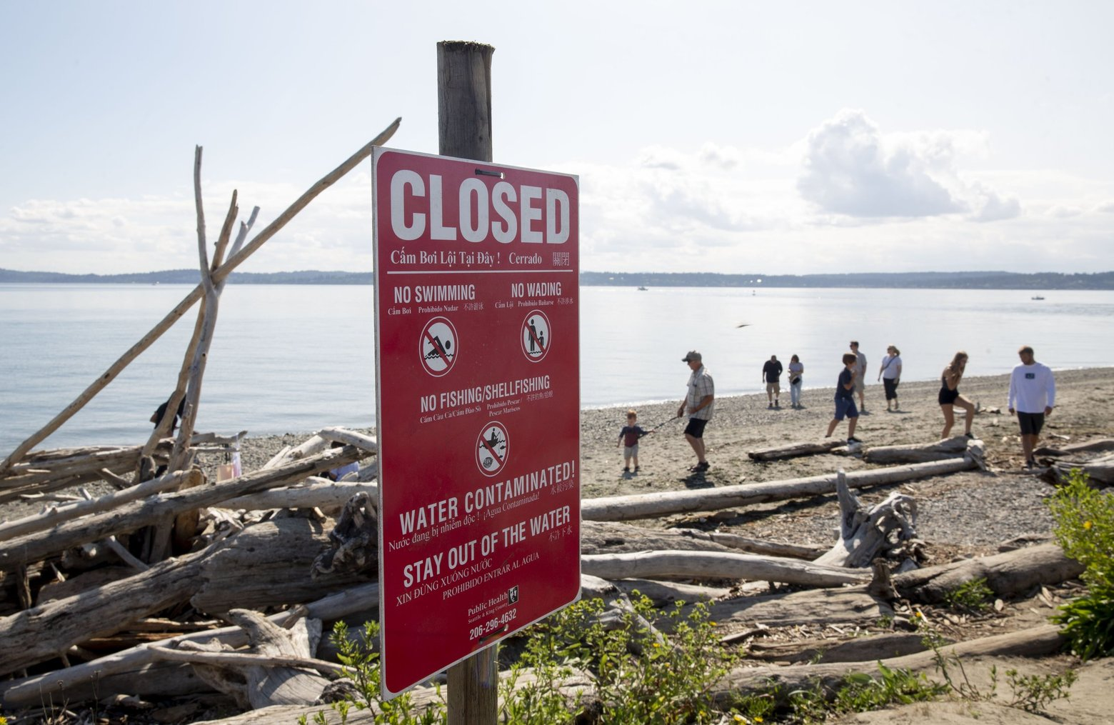 3 million gallons of untreated sewage spill into Puget Sound, state officials investigating