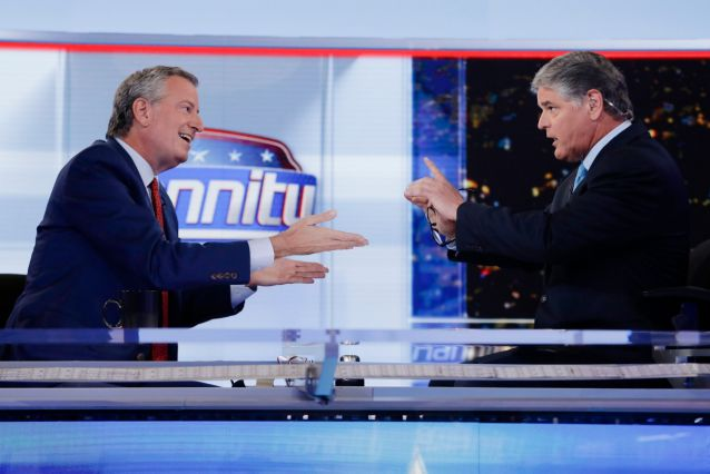 De Blasio Shreds Fox News As Such A Charade In Surreal Hannity Interview
