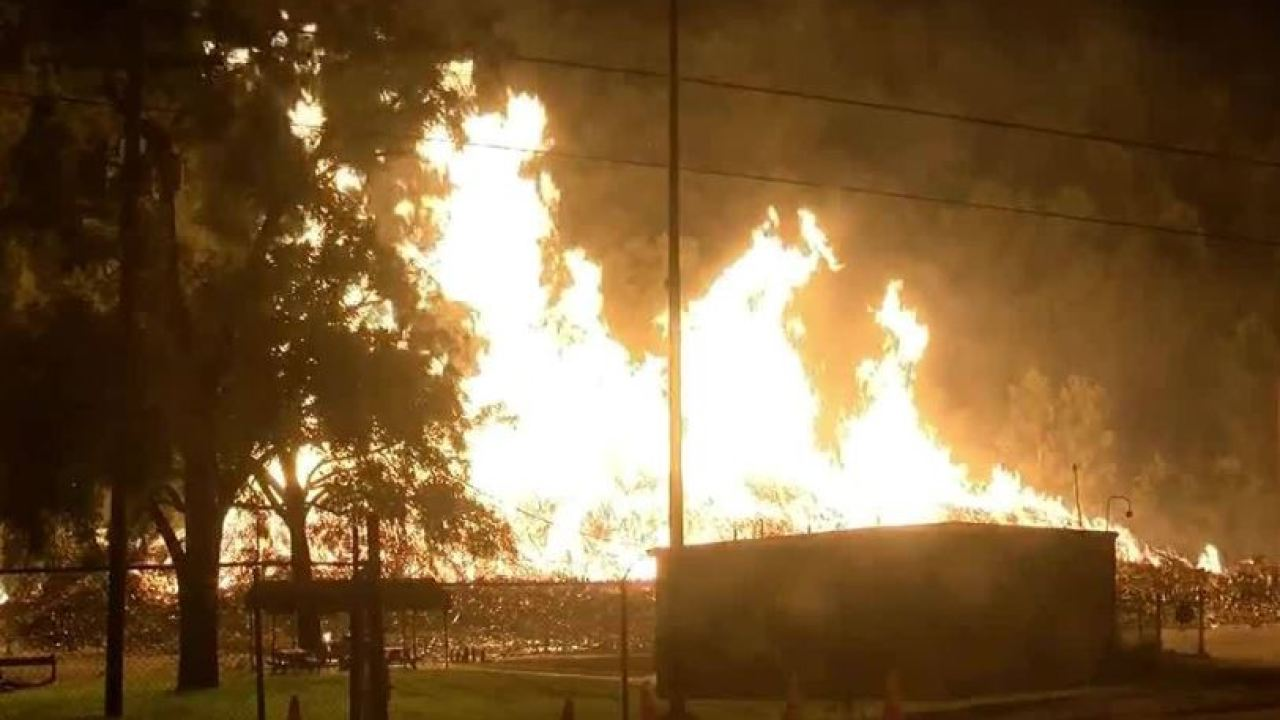Thousands of barrels of bourbon lost in fire at Jim Beam facility in Kentucky