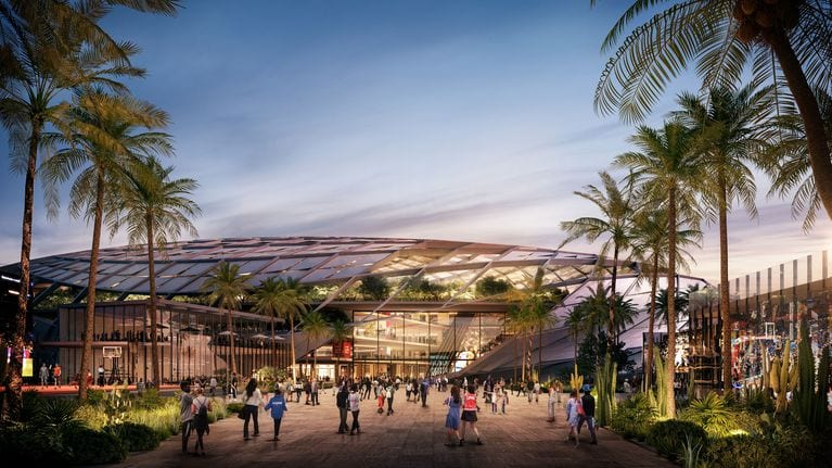 Steve Ballmer unveils $1 billion dream: A new arena complex for the Clippers
