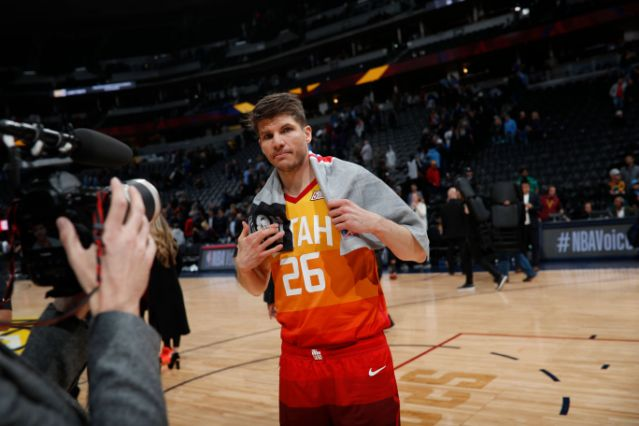 Kyle Korver was traded for a copy machine, but he won in the end