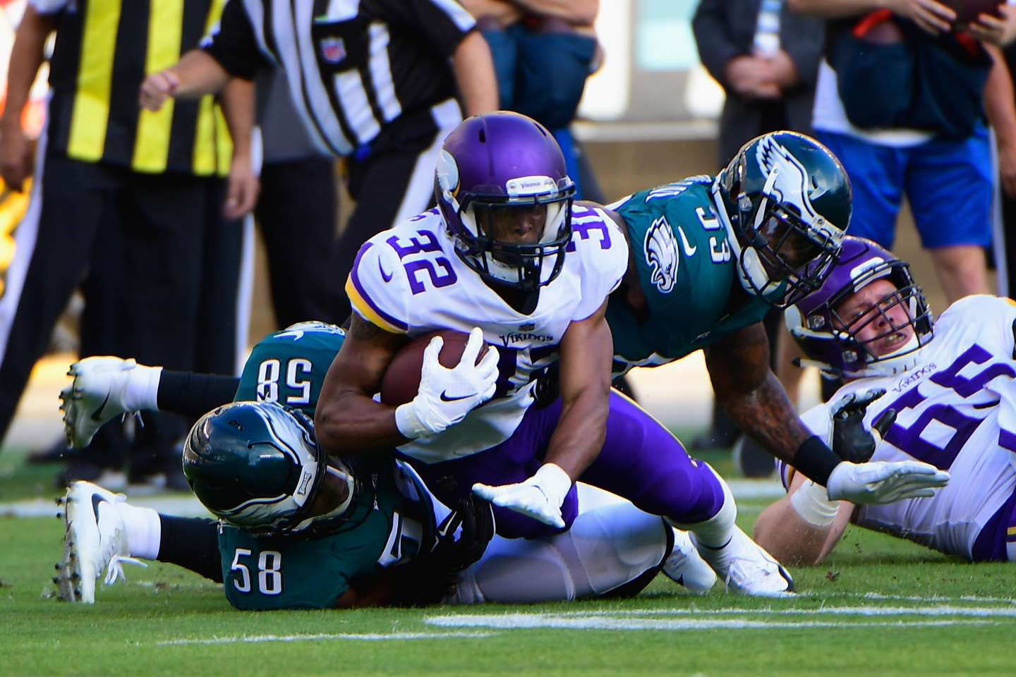 Vikings running back Roc Thomas suspended by NFL
