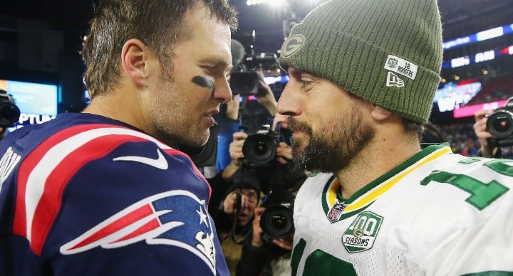 Tom Brady's Patriots beat Aaron Rodgers' Packers, who are in danger of missing playoffs