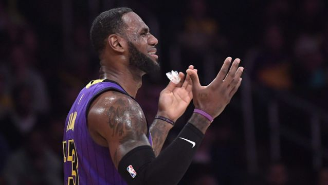 LeBron James talks missing playoffs Its not what we signed up for