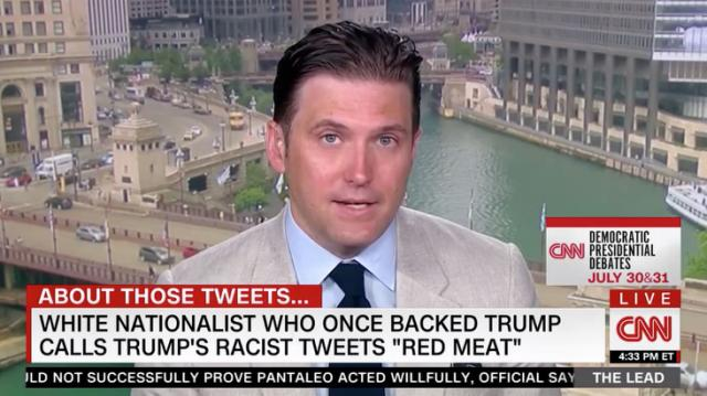 CNN Invites White Supremacist Richard Spencer to Talk About Trumps Racist Tweets