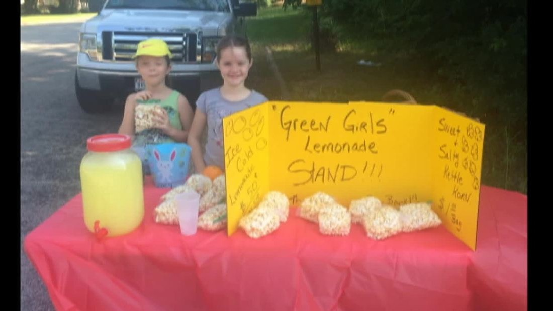 You can't shut a lemonade stand down in Texas. It's the law