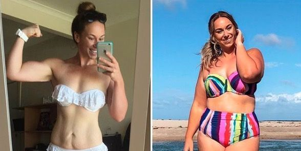 Fitness influencer admits reaching her weight loss goal actually made her more insecure
