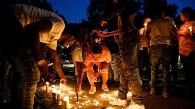 Dozens gather at scene of 16-year-old suicide following police chase: He had a promising future