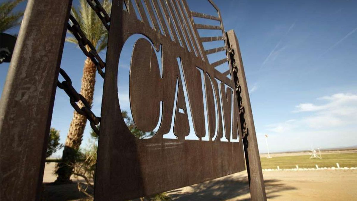 Court throws out federal approval of Cadiz water pipeline