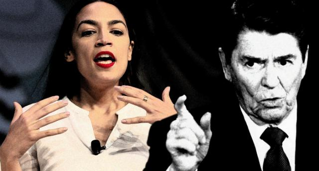 Ronald Reagan, is a racist Ocasio-Cortez says, but the controversy reveals a lot about how Americans discuss race