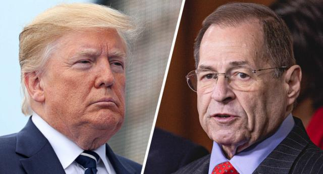 Trump made get-well call to Jerry Nadler in hospital