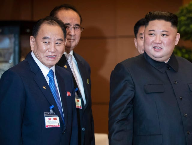 Top North Korean official Kim Yong Chol reappears days after purge report