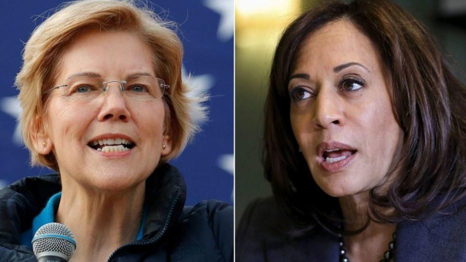 Kamala Harris and Elizabeth Warren reportedly say they support reparations for black Americans affected by slavery