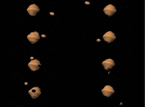 Asteroid 1999 KW4: Asteroid with moon of its own flying by Earth Saturday
