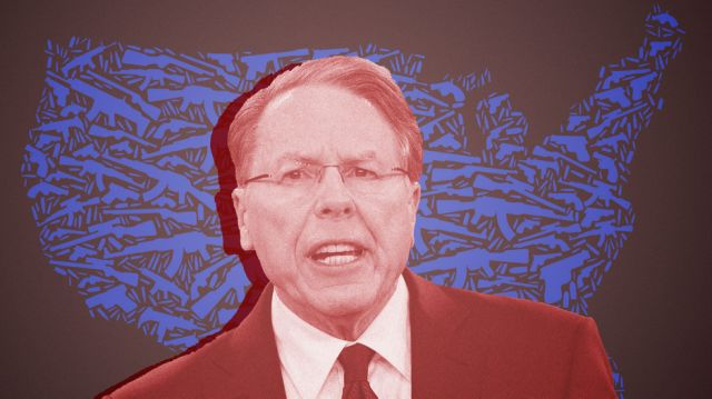 The NRA Has Long Urged Americans To Arm Themselves Against An Immigrant Invasion
