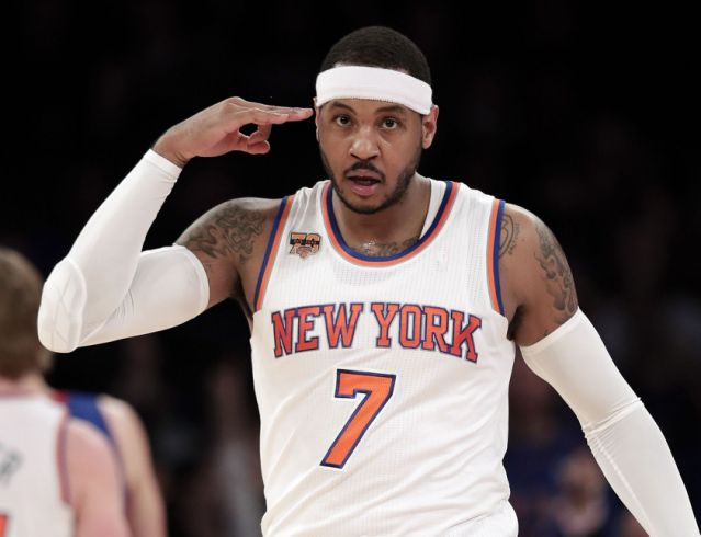 Stephen A. Smith tells caller 'Go to hell' for suggesting Carmelo Anthony could save the Knicks