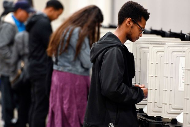 Georgia New Voting Machines Must Be Ready for 2020 Primary, Judge Says Order follows lawsuit over security of states outdated machines, which provide no paper record of votes