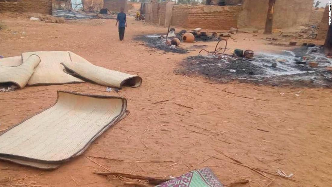 At least 95 killed in attack on Mali village