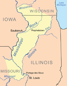 The Council of Three Fires, an alliance of Native American tribes, signs a treaty with the United States. It will be one of 14 treaties signed in the St. Louis area . The tribes relinquish all rights to land that was previously ceded to the United States in 1804 and give up an additional 20-mile strip of land to the US.