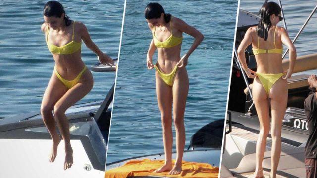 Kendall Jenner bathing suit pics