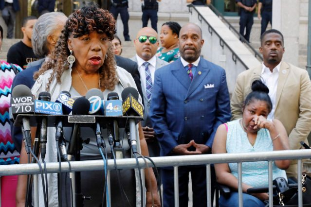 Today we can't breathe. DOJ will not bring civil rights charge against NYPD officer in death of Eric Garner