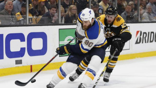 Stanley Cup Final Game 7 Blues Ryan O Reilly wins Conn Smythe Trophy