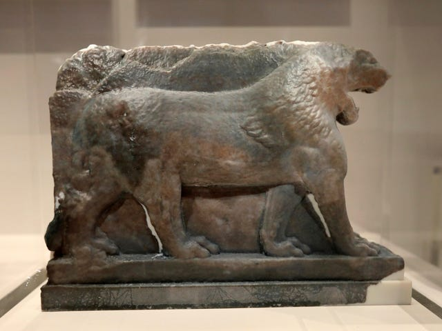 3-D printing recreates ancient sculpture destroyed by ISIS