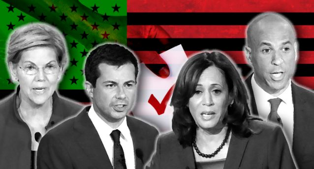 Democrats vie to do the most to fight racism