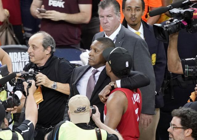 Attorney: Deputy in clash with Raptors exec has concussion even after witnesses state he was never touched