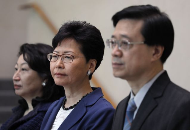 Hong Kong to push ahead with bill that sparked huge protest