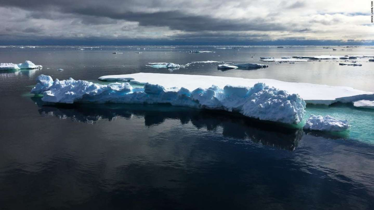 Greenland lost 2 billion tons of ice yesterday, which is very unusual