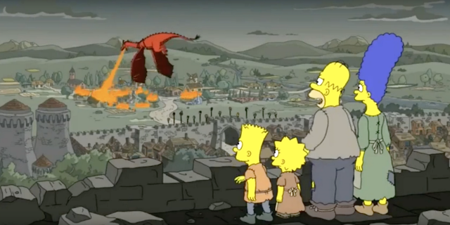 The Simpsons' Predicted The 'Game Of Thrones' Daenerys Twist Along With Everyone Else