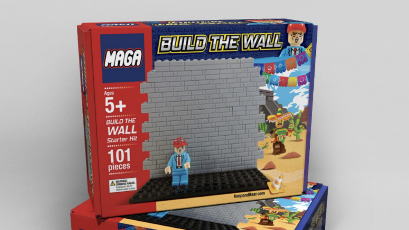 Conservative site to sell Lego-style 'Build The Wall' toy set
