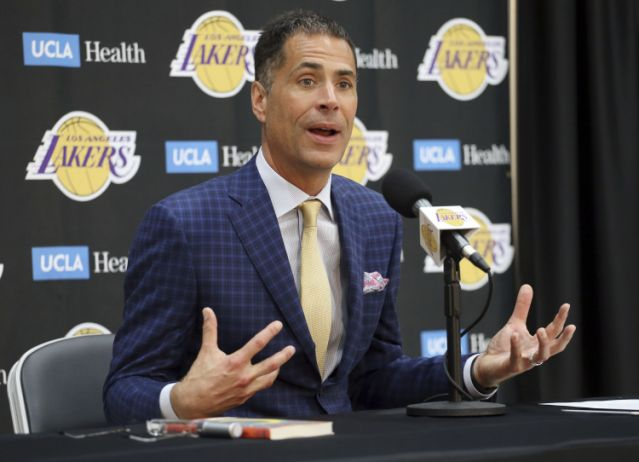 Lakers GM Rob Pelinka 'Anything short of a championship is not success